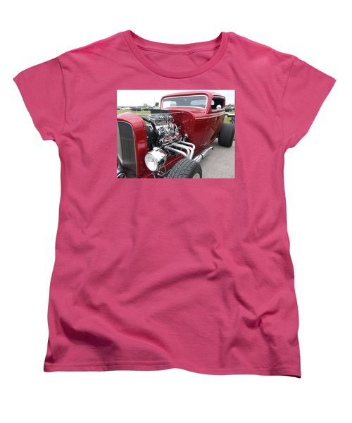 Women's T-Shirt (Standard Cut) featuring the photograph What Pipes by Caryl J Bohn