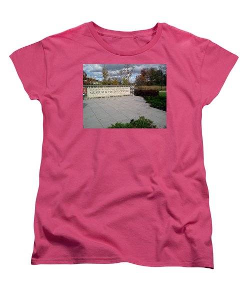 Where It All Started Women's T-Shirt (Standard Cut) by Amazing Photographs AKA Christian Wilson