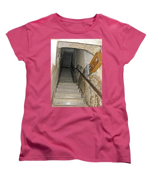 Women's T-Shirt (Standard Cut) featuring the photograph Who Lives Here? by Allen Sheffield
