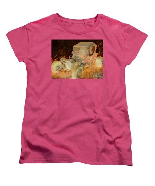 Wicked Ride Women's T-Shirt (Standard Cut) by Chris Thomas
