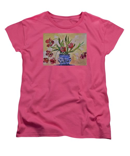 Wilting Tulips Women's T-Shirt (Standard Cut)