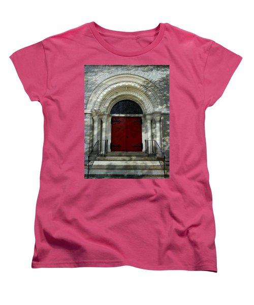 Women's T-Shirt (Standard Cut) featuring the photograph Winchester Church by Joseph Skompski