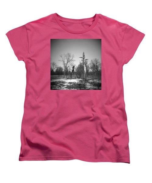 Winter Forest Series 4 Women's T-Shirt (Standard Cut) by Verana Stark