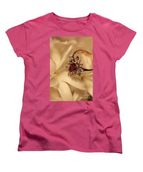 Women's T-Shirt (Standard Cut) featuring the photograph With Love by Joy Watson
