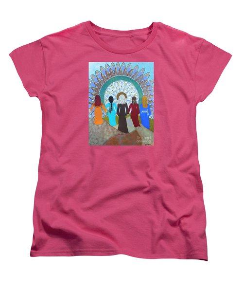 Women's Circle Mandala Women's T-Shirt (Standard Cut)