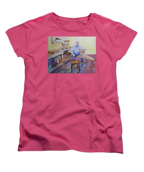 Woodworker Chair Maker Women's T-Shirt (Standard Cut)