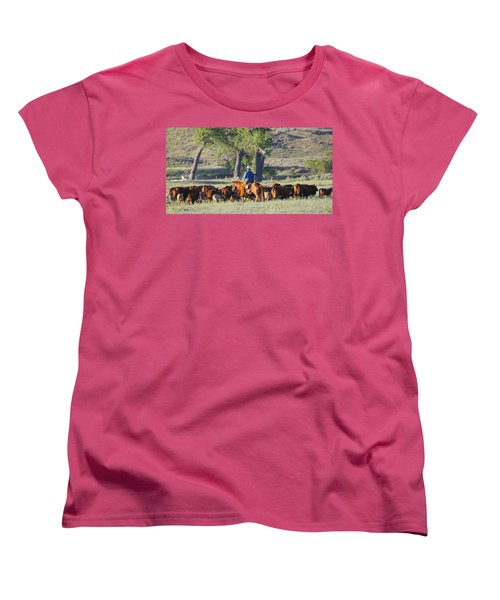 Wyoming Country Women's T-Shirt (Standard Cut)