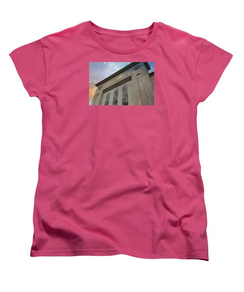 Yankee Stadium Women's T-Shirt (Standard Cut) by Stephen Stookey