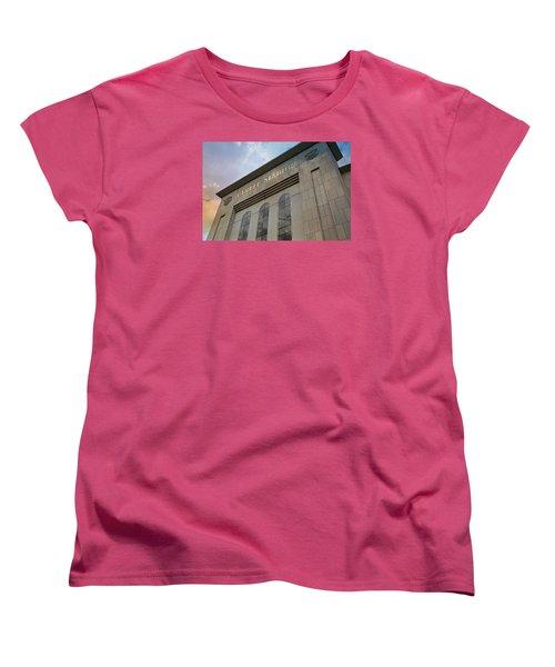 Yankee Stadium Women's T-Shirt (Standard Cut) by Stephen Stookey