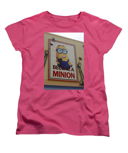 Year Of The Minions Women's T-Shirt (Standard Cut) by David Nicholls