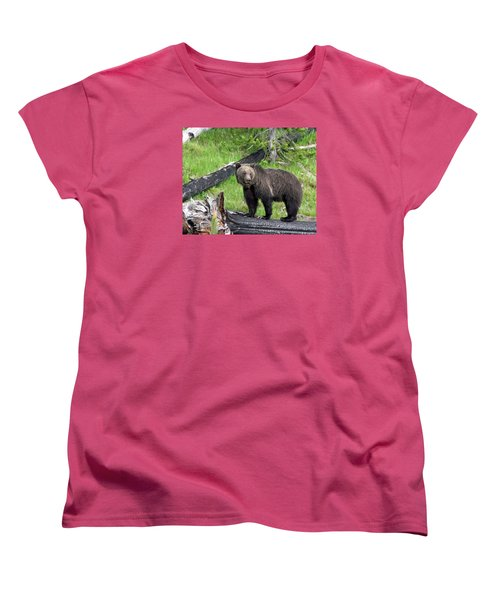 Yellowstone Grizzlies 2 Women's T-Shirt (Standard Cut) by George Jones