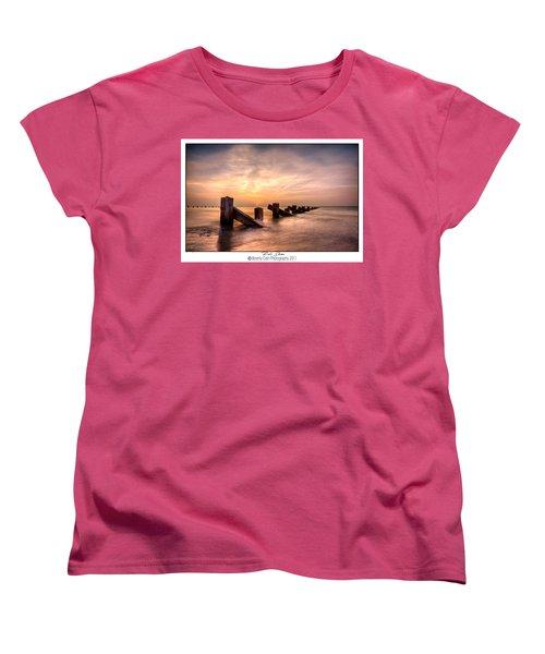 Rich Skies - Abermaw Women's T-Shirt (Standard Cut) by Beverly Cash