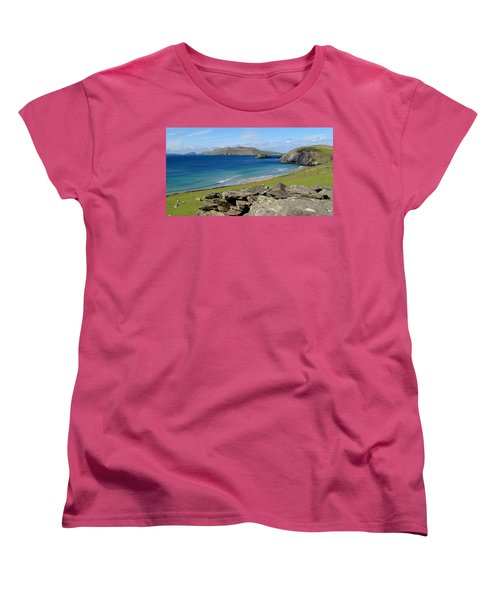 Blasket Islands Women's T-Shirt (Standard Cut) by Barbara Walsh