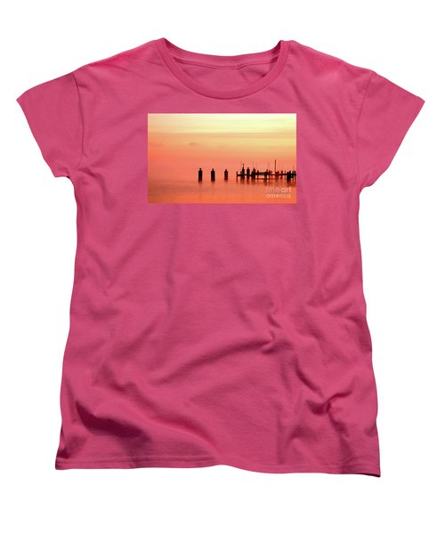 Women's T-Shirt (Standard Cut) featuring the photograph Eery Morn by Clayton Bruster