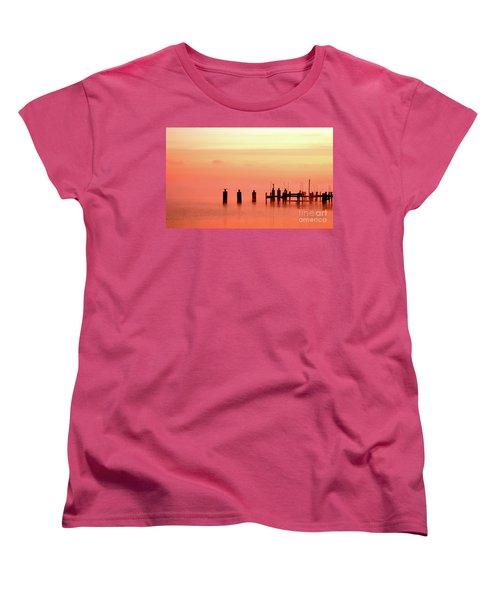 Eery Morn Women's T-Shirt (Standard Cut) by Clayton Bruster