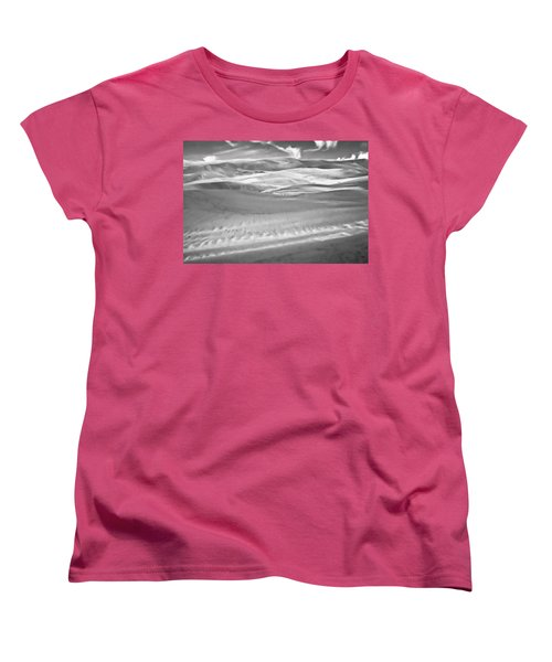 Land Meets Sky Women's T-Shirt (Standard Cut) by Colleen Coccia