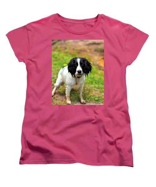Spaniel Women's T-Shirt (Standard Cut) by Marlo Horne