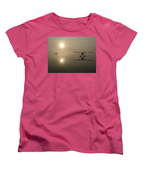 A Bad Day For Flying  Women's T-Shirt (Standard Cut) by Mark Alan Perry