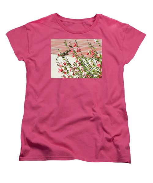 Women's T-Shirt (Standard Cut) featuring the photograph A Garden Delight by Heidi Smith