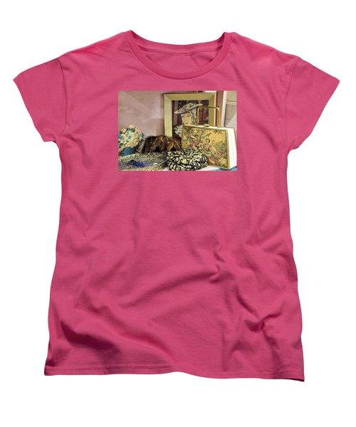 Women's T-Shirt (Standard Cut) featuring the photograph A Little Romance II by Jan Amiss Photography