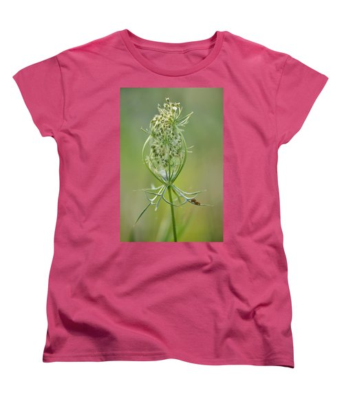Women's T-Shirt (Standard Cut) featuring the photograph A Meal Of Lace by JD Grimes