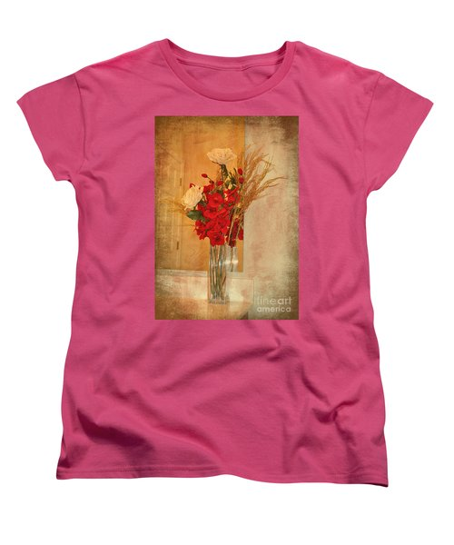 Women's T-Shirt (Standard Cut) featuring the photograph A Rose By Any Other Name by Kathy Baccari