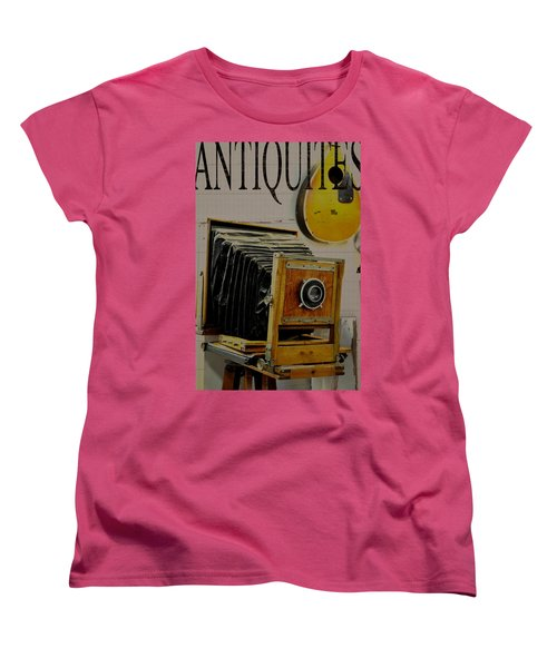 Antiquites Women's T-Shirt (Standard Cut) by Jan Amiss Photography