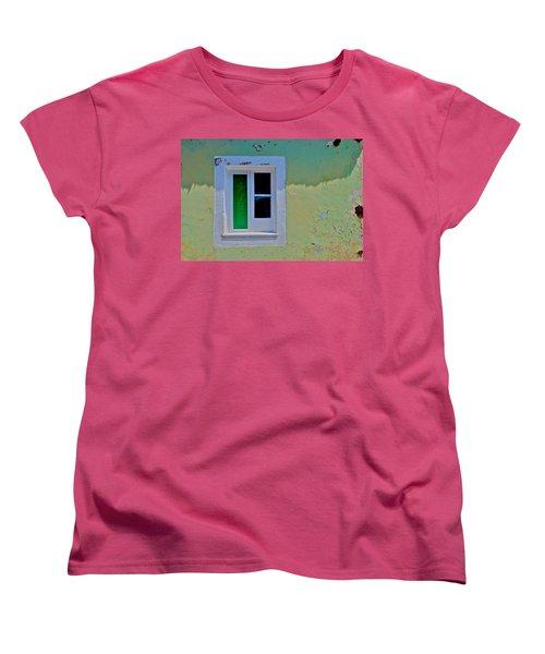 Azores Window Women's T-Shirt (Standard Cut) by Eric Tressler