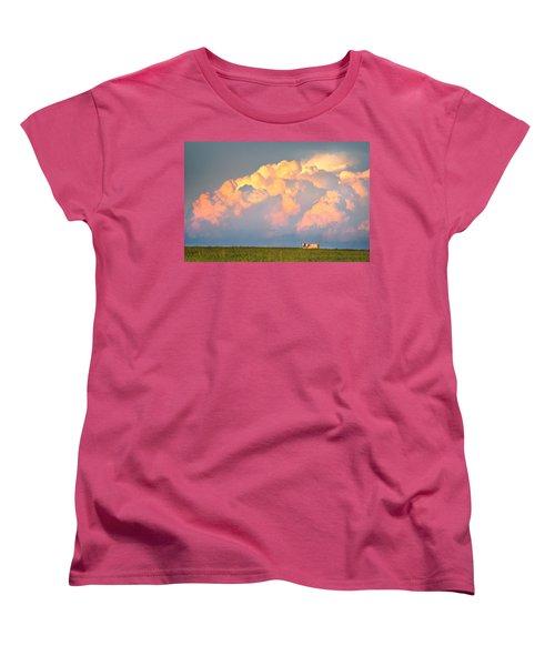 Beefy Thunder Women's T-Shirt (Standard Cut) by Brian Duram