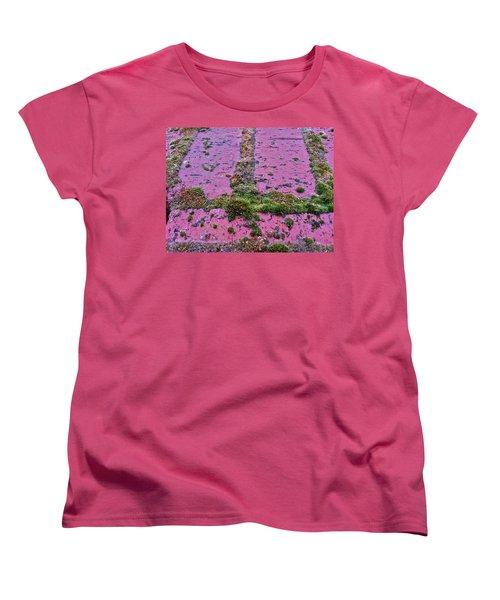Women's T-Shirt (Standard Cut) featuring the photograph Brick Wall by Bill Owen