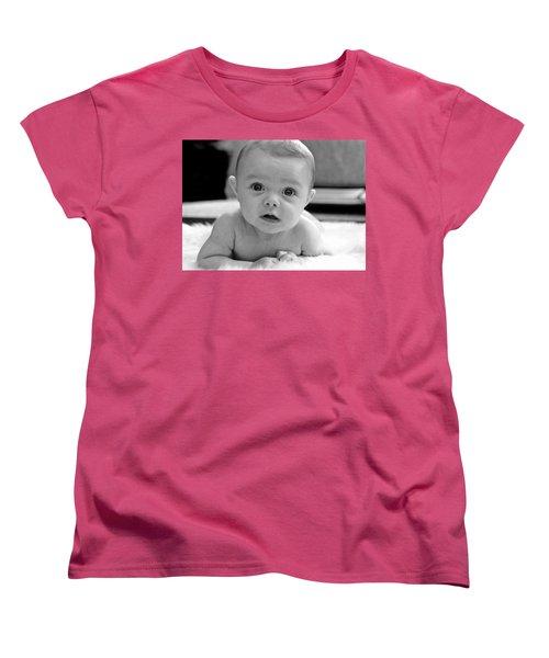 Bright Eyes Women's T-Shirt (Standard Cut) by Lisa Phillips