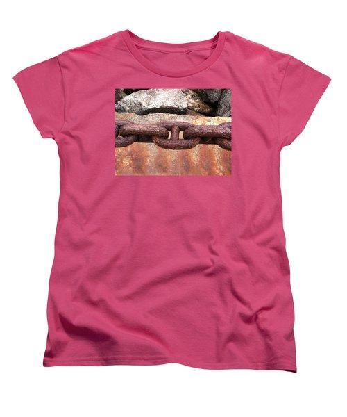 Chain Under The Golden Gate Bridge Women's T-Shirt (Standard Cut) by Bill Owen