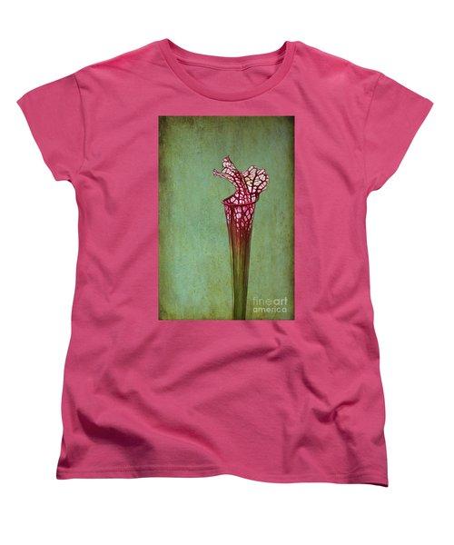 Cobra Lily Women's T-Shirt (Standard Cut) by Judi Bagwell
