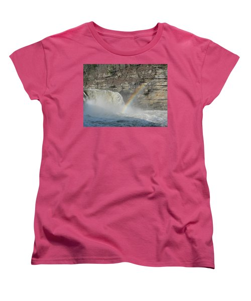 Women's T-Shirt (Standard Cut) featuring the photograph Cumberland Falls by Tiffany Erdman