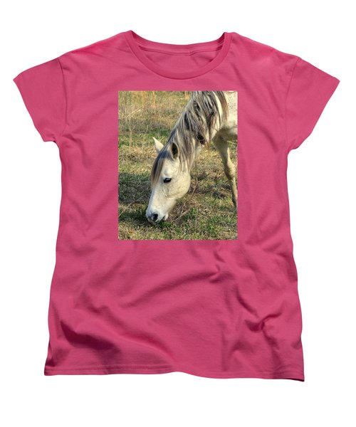 Women's T-Shirt (Standard Cut) featuring the photograph Dinner Time by Marty Koch