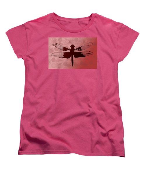 Women's T-Shirt (Standard Cut) featuring the photograph Dragonfly by Lauren Radke