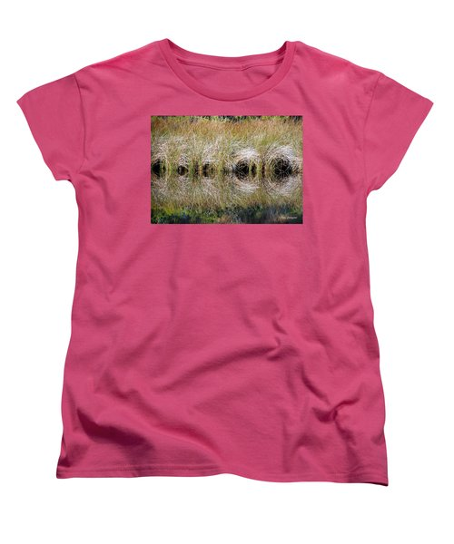 Women's T-Shirt (Standard Cut) featuring the photograph Escape Hatches by Kay Lovingood