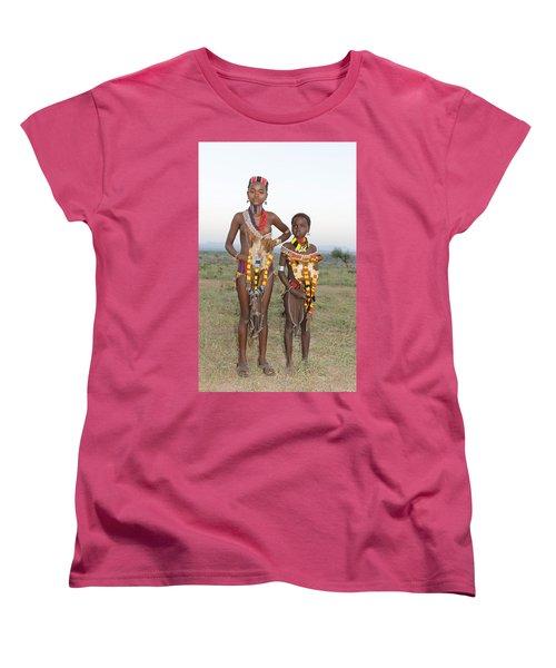 Ethiopia-south Sisters Women's T-Shirt (Standard Cut) by Robert SORENSEN