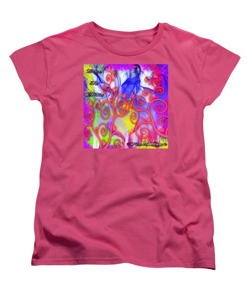 Women's T-Shirt (Standard Cut) featuring the digital art Even In Chaos Find Love by Clayton Bruster