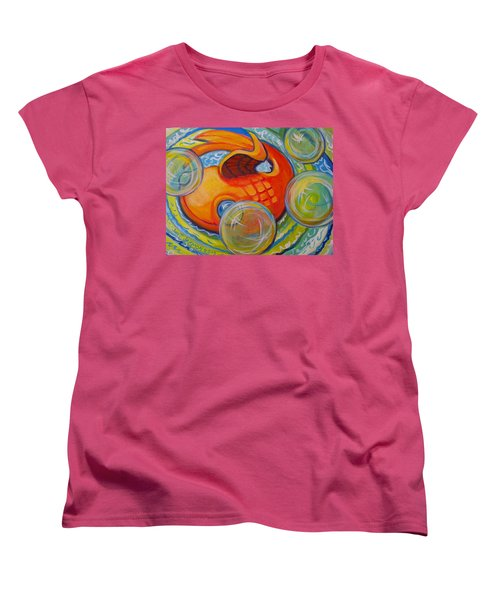 Fish Fun Women's T-Shirt (Standard Cut) by Jeanette Jarmon