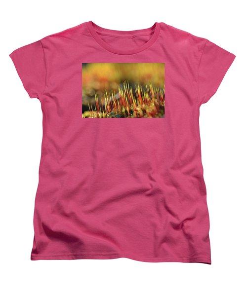 Flaming Moss Women's T-Shirt (Standard Cut)