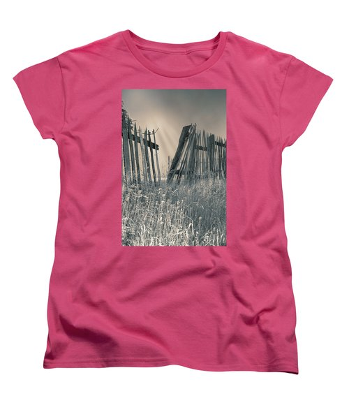 Women's T-Shirt (Standard Cut) featuring the photograph Freedom by Mary Almond