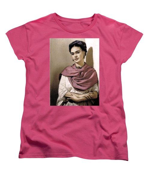 Frida Interpreted 2 Women's T-Shirt (Standard Cut)