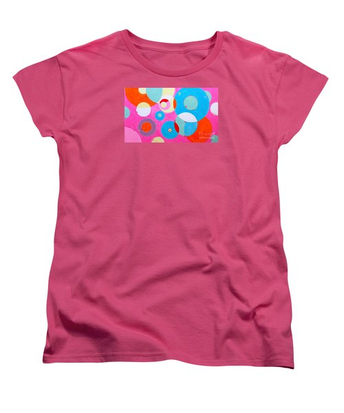 Girl Women's T-Shirt (Standard Cut) by Beth Saffer