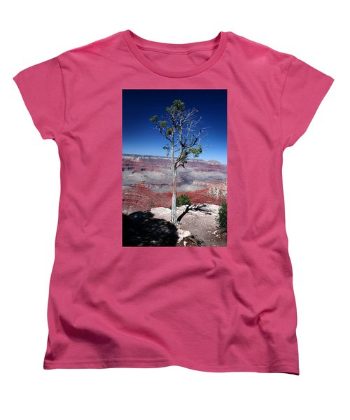 Women's T-Shirt (Standard Cut) featuring the photograph Grand Canyon Number Two by Lon Casler Bixby
