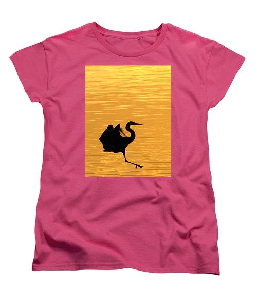 Women's T-Shirt (Standard Cut) featuring the photograph Great Blue Heron by Randall Branham