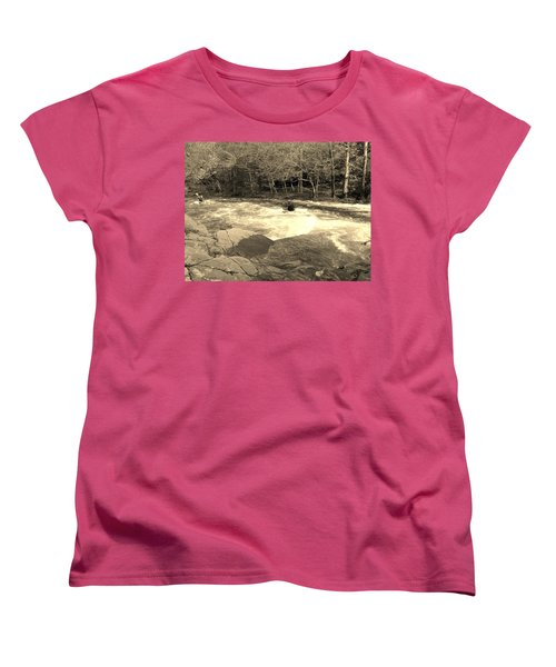 Women's T-Shirt (Standard Cut) featuring the photograph Great Smoky Mountain by Janice Spivey