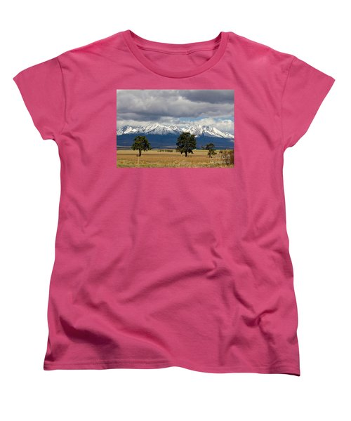 Women's T-Shirt (Standard Cut) featuring the photograph High Tatras - Vysoke Tatry by Les Palenik
