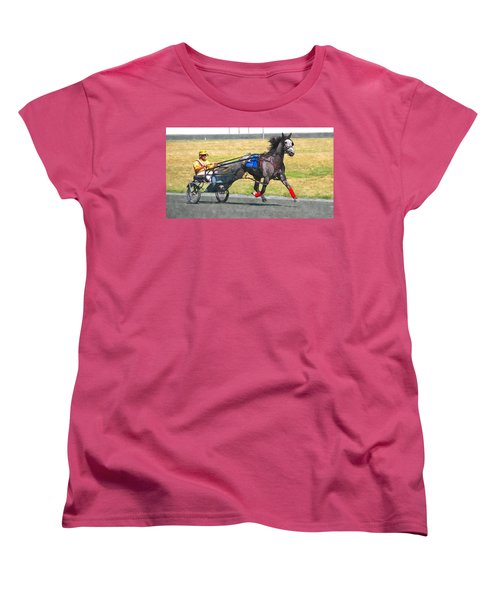 Women's T-Shirt (Standard Cut) featuring the photograph Hooray For The Gray by Alice Gipson