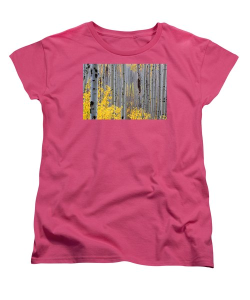 Women's T-Shirt (Standard Cut) featuring the photograph In The Thick Of Things by Jim Garrison